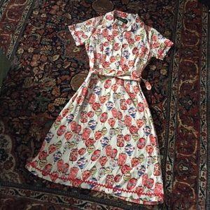 Vintage Dresses - Vintage Chinese Lantern Dress Manifesto SF